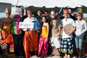 Attendees celebrating their Indonesian culture.